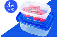 Clear Bowl disposible plastic containers for Soup / Fruit , 310ml IML PP Plastic Clear Fruit Bowl